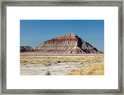 The Tepees Petrified Forest National Park Framed Print