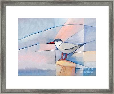 The Tern Framed Print by Lutz Baar