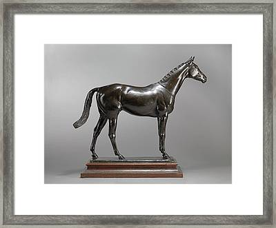 The Tetrach The Racehorse, The Tetrarch Incised On Top Framed Print