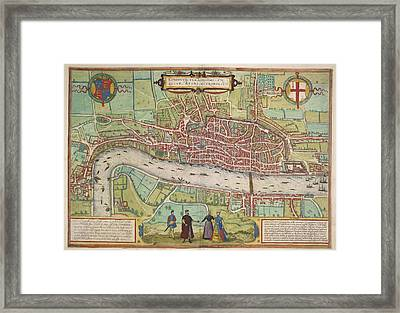 The Thames Framed Print by British Library