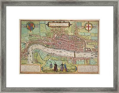 The Thames Framed Print