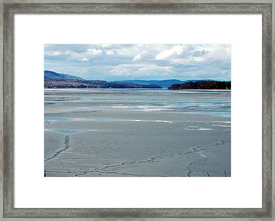 The Thaw Framed Print by Mim White