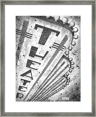 The Theater Framed Print by Adam Zebediah Joseph