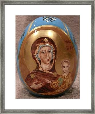 The Theotokos Framed Print