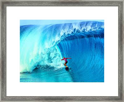 The Thin Blue Line Framed Print