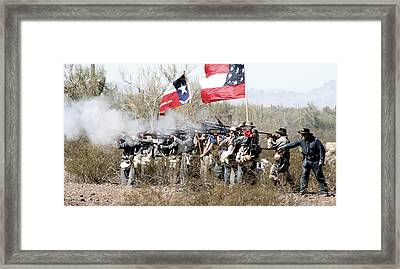 The Thin Gray Line Framed Print by Joe Kozlowski
