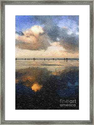 The Thin Line Framed Print