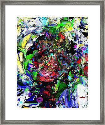 The Thinker Framed Print by David Lane