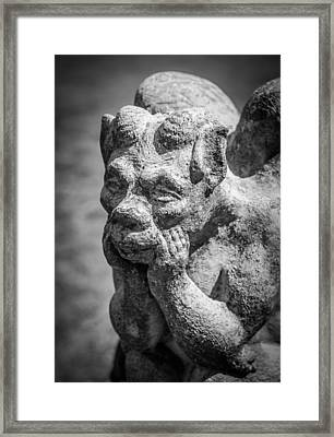 The Thinker Framed Print by James Barber