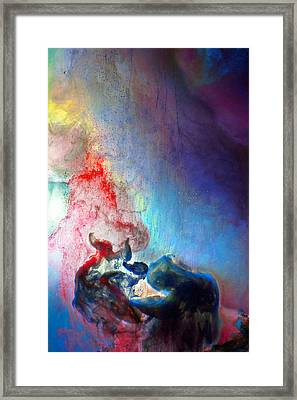 The Thinker Framed Print by Petros Yiannakas
