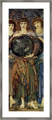 The Third Day Framed Print by Edward Burne Jones