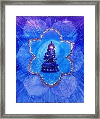 The Third Eye Framed Print by Joan Doyle