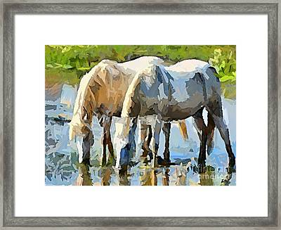 The Thirst Framed Print by Dragica  Micki Fortuna