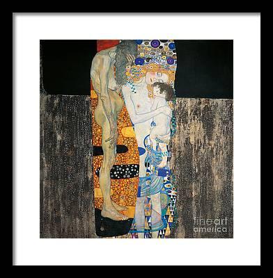 Human Interest Paintings Framed Prints