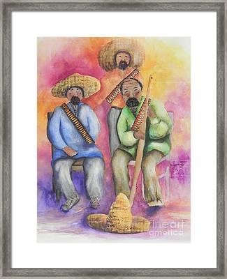 The Three Amigos Framed Print by Chrisann Ellis
