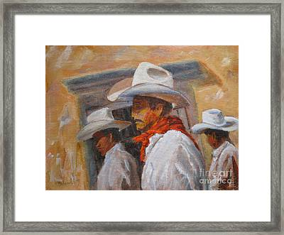 The Three Amigos Framed Print by Mohamed Hirji