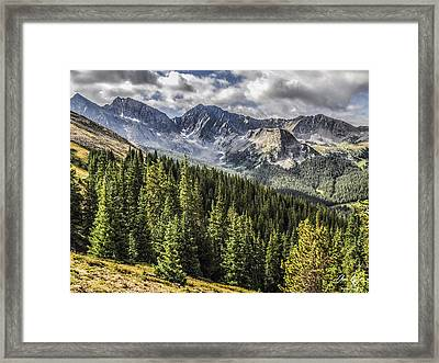 The Three Apostles Framed Print by Aaron Spong