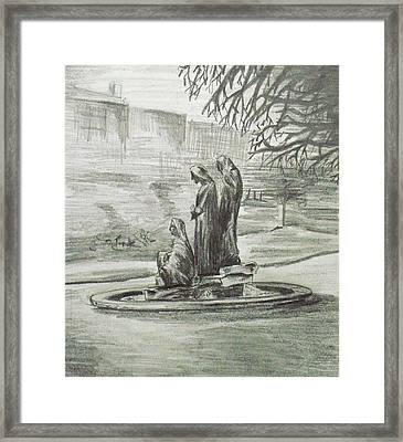 The Three Fates Framed Print by Alan Hogan