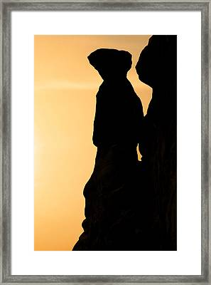 The Three Gossips - Arches National Park Framed Print by Christine Till