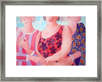 The Three Gracies Framed Print by Julie  Hutchinson