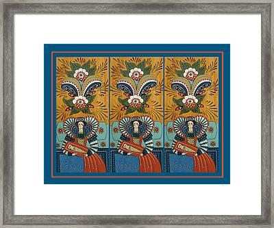 The Three Marys Framed Print by Leif Sodergren