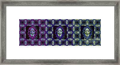 The Three Medusas 20130131 - Horizontal Framed Print by Wingsdomain Art and Photography