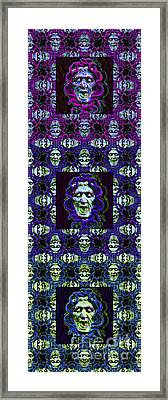 The Three Medusas 20130131 - Vertical Framed Print by Wingsdomain Art and Photography