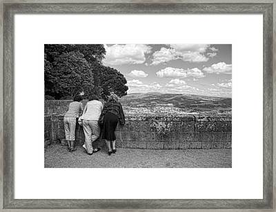 Framed Print featuring the photograph The Three Graces by Hugh Smith
