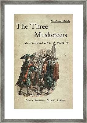 The Three Musketeers Framed Print by British Library