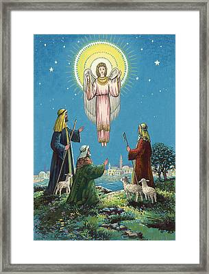 The Three Shepherds  Framed Print by Stanley Cooke