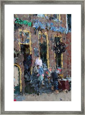 The Three Sisters Bar  Framed Print by Steve K