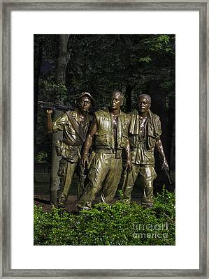 The Three Soldiers Framed Print