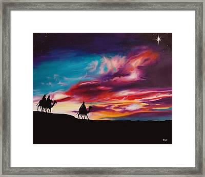 The Three Wise Men Framed Print