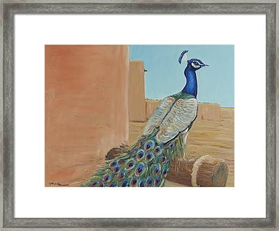 The Thunderbird Framed Print by David  Llanos