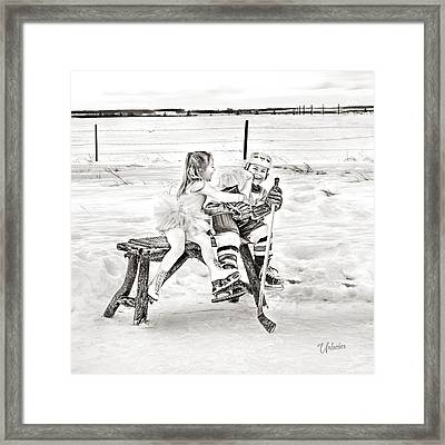 The Tickler Framed Print