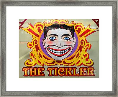 The Tickler Of Coney Island Framed Print