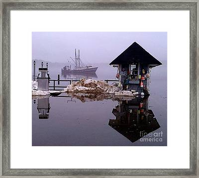 The Tide Is Rising Framed Print