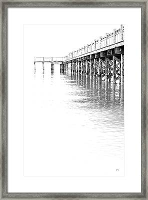 The Tide Framed Print by Karol Livote