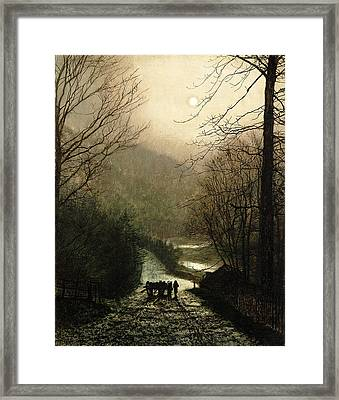 The Timber Wagon Framed Print
