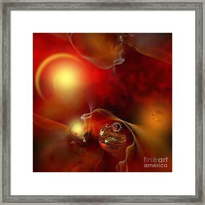 The Time Born In The Shine Of His Majesty Framed Print