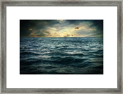 The Time I Was Daydreaming Framed Print