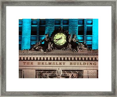 The Time Keepers Framed Print