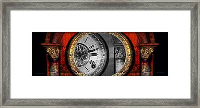 The Time Machine Framed Print by Gunter Nezhoda