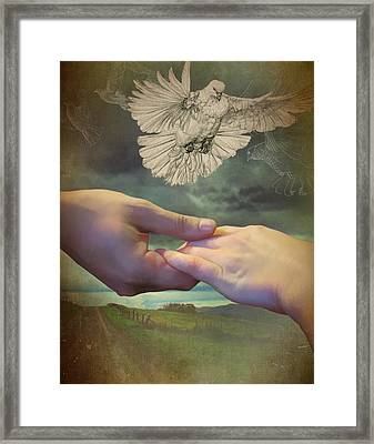 The Time Of Singing Has Come Framed Print