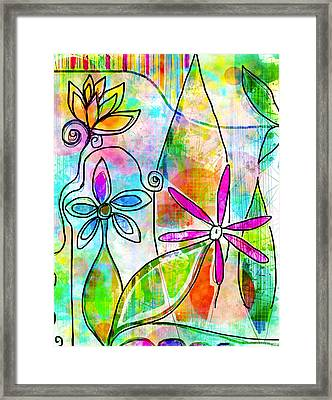 The Time To Bloom Framed Print by Robin Mead