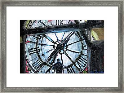 The Timekeeper Framed Print