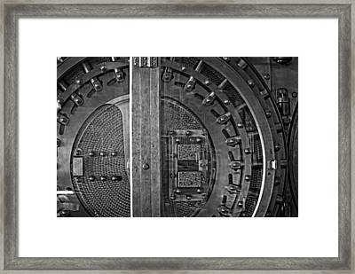 The Timer Framed Print by Image Takers Photography LLC - Carol Haddon