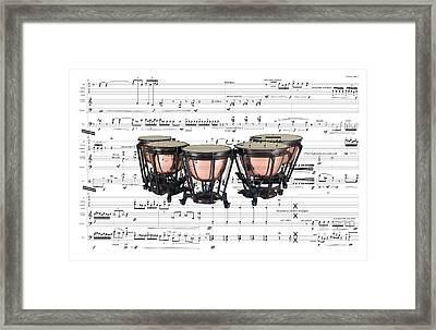 The Timpani Framed Print
