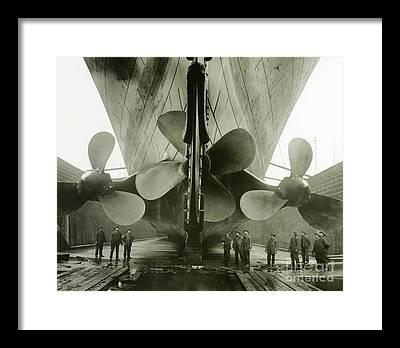 Shipyard Framed Prints
