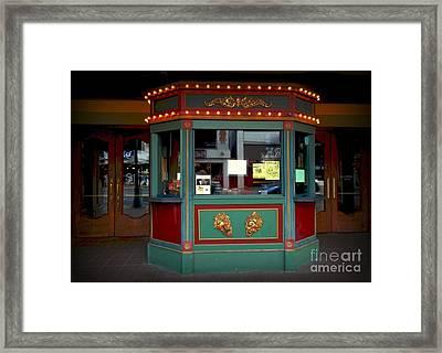 The Tivoli Edited Framed Print by Kelly Awad